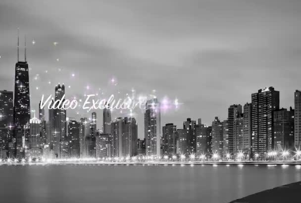 create a Chicago Billboard commercial video New York Las Vegas Available