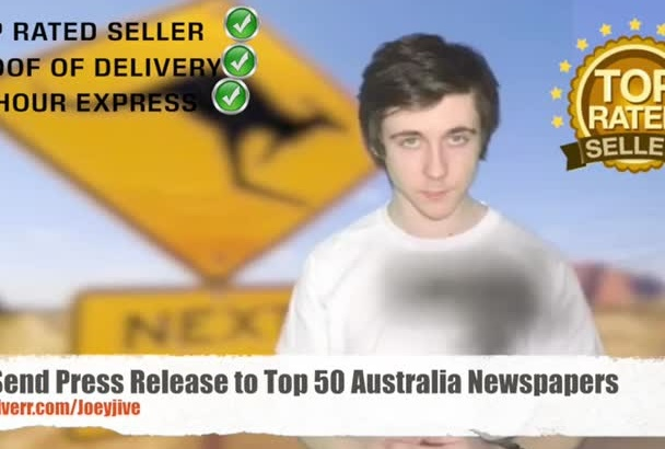 send Press Release to Top 50 Australia Newspapers