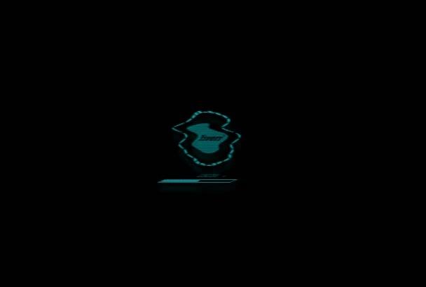 create 3D Elegant Logo Animation intro