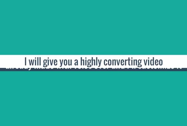 make a customized professional video for your business