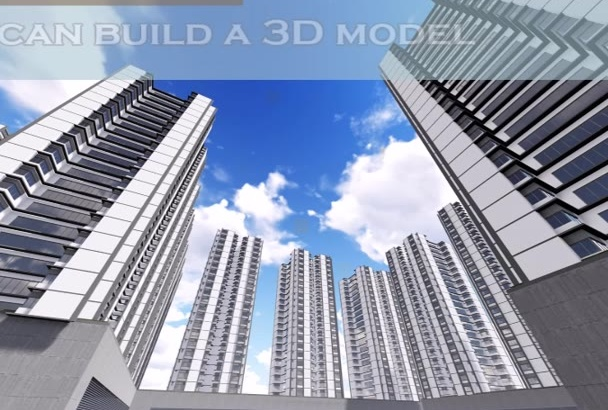 build 3D model of your project from 2D floor plan