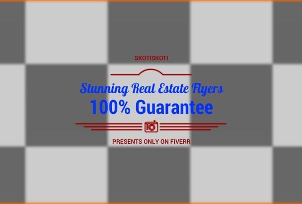 design a Real Estate Flyer