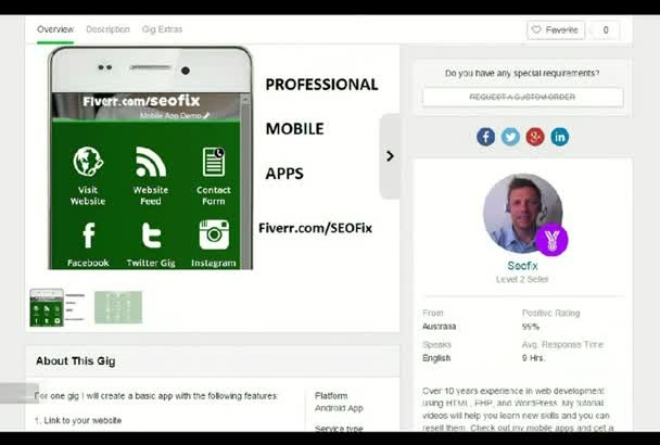 convert your website into a professional Android app