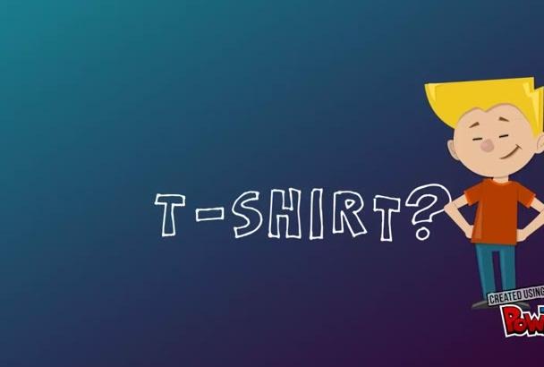do amazing custom Tshirt designing