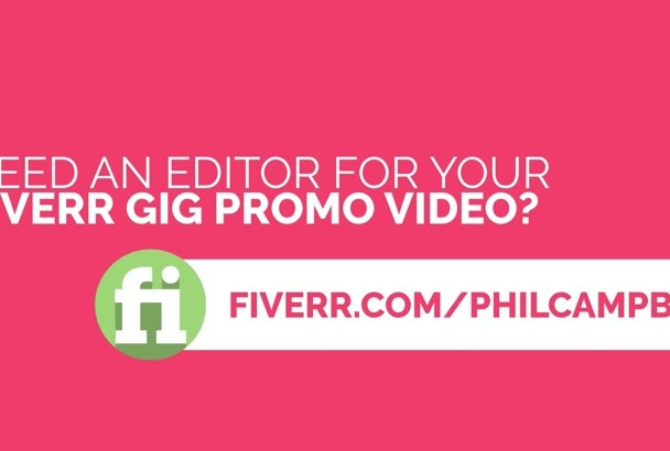 edit your fiverr gig videos