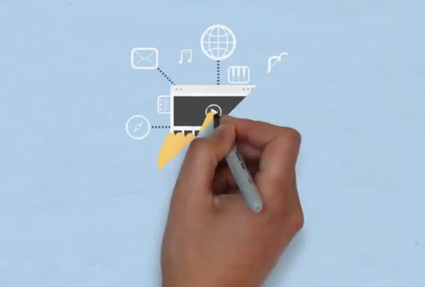 create promotional VideoScribe video