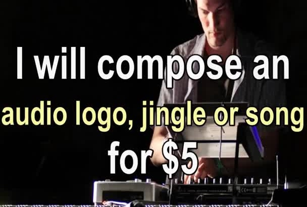 compose an audio logo, jingle, song for your brand, company, artist etc