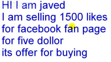 give you 1500 fb likes