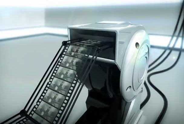 create Super 4 Screen Advertising video