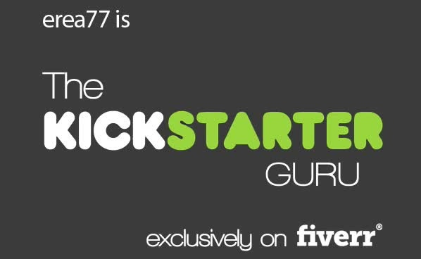 provide the complete Kickstarter project promotion guide
