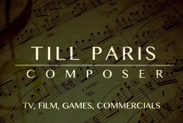 compose Hollywood style music for Film,TV,Games,Soundtracks