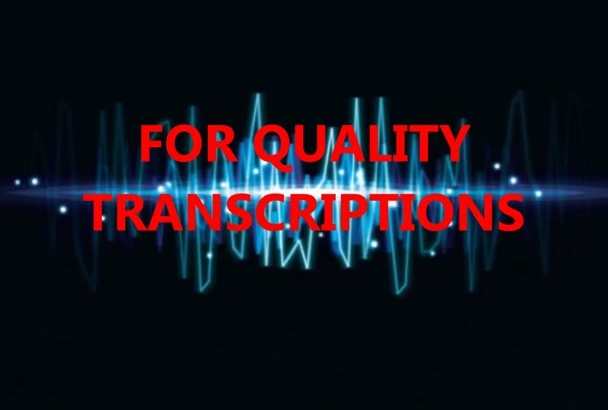 transcribe 10 mins of audio