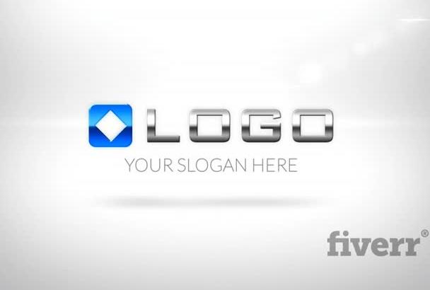do Simple Elegant Business Corporate 3D Logo Zoom