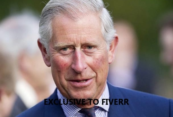 record a voice over as Prince Charles