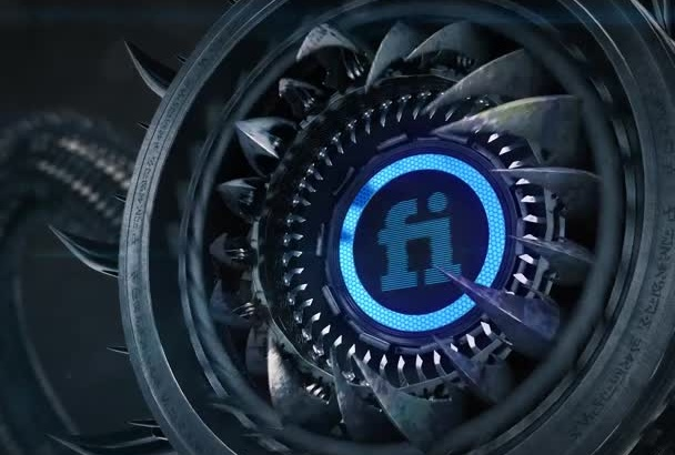 put your LOGO to Hi Tech Monster intro