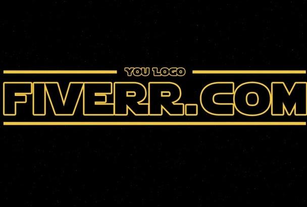 hacer el Espectacular intro de Star Wars como tú lo pidas
