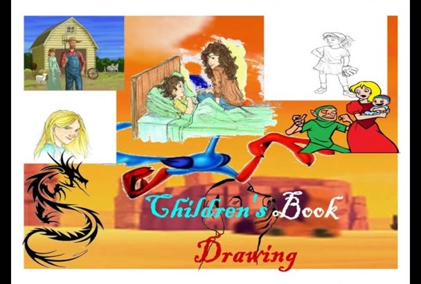 illustrate your children story books