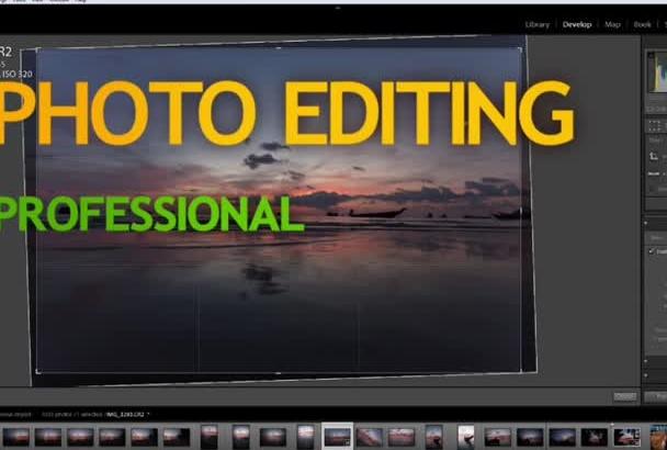 professionally edit RAW, jpeg photos