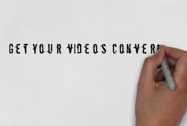 convert your videos to any format you want