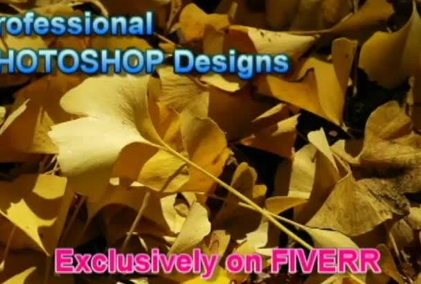 create unbelievable PHOTOSHOP designs