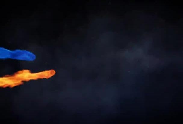 make a Fabulous Fire Dragon Intro Revealing Your Logo in HD