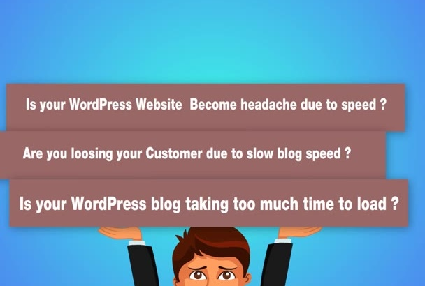 increase wordpress website speed
