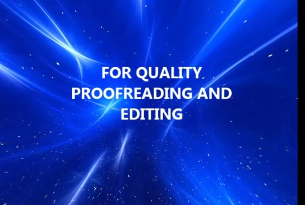 accurately proofread or edit your document