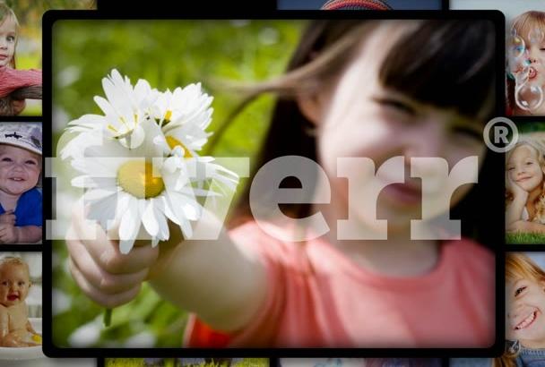 , create for you a slideshow of 12 photos, 30 seconds