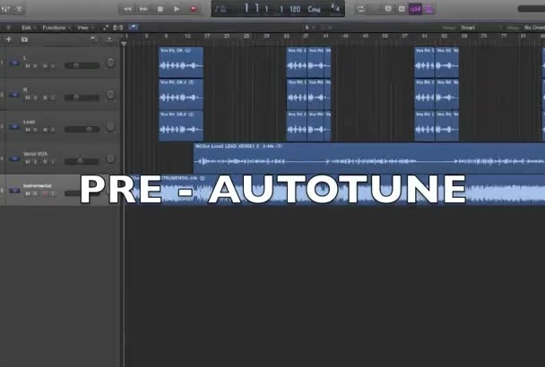 tune your voice with melodyne or autotune