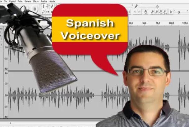 grabar un audio en perfecto español sin ningún acento