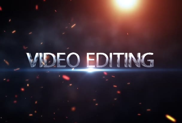 professionally edit any video and add effects