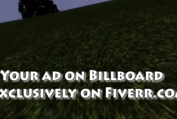 capture a billboard of your logo in a virtual world