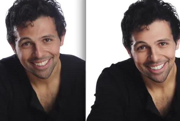 edit actor and model headshots