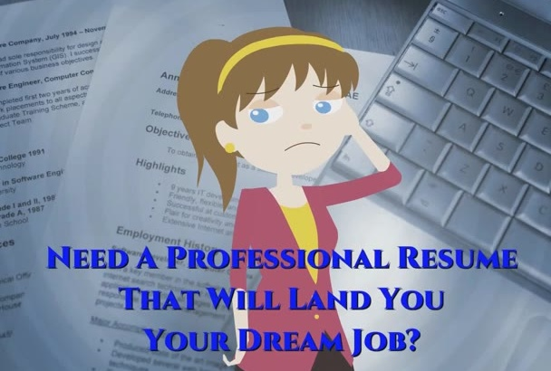 write or edit resume, cv and cover letter