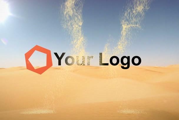 create a logo reveal