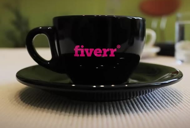 create this stylish coffee cup intro