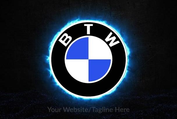 design this plasma composing logo intro