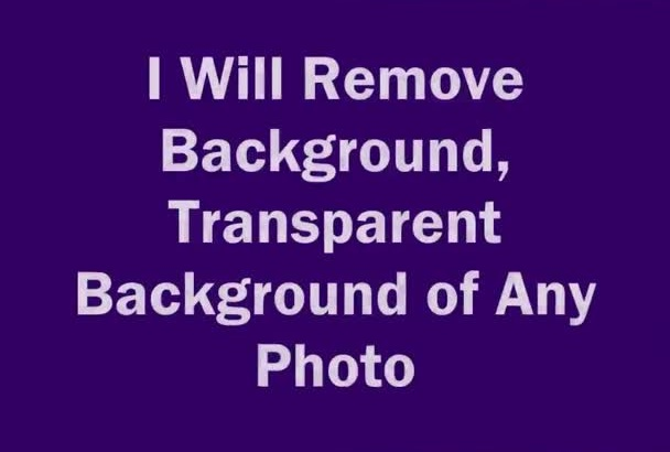 remove background, transparent any photo, image, graphic