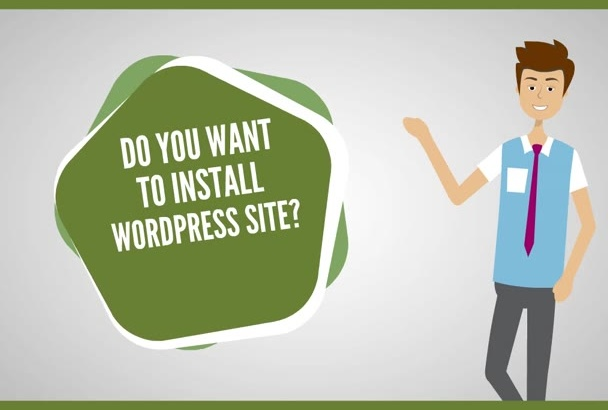 install WordPress Site For you