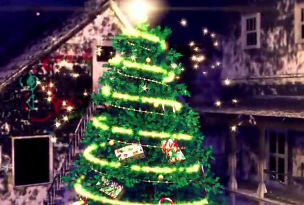 make a Merry Christmas Video