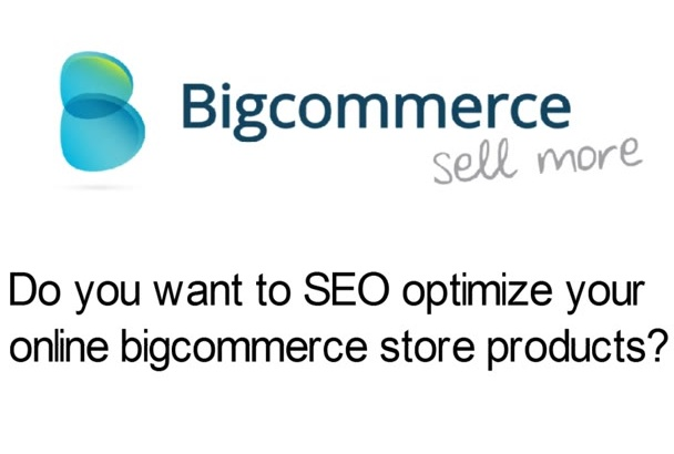 do On Page SEO for Bigcommerce Store