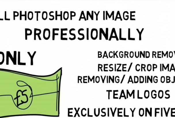 photoshop Professionally your Images