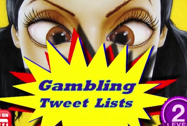 gambling Tweets List of 500 Premade Precompiled Twitter Phrases in 24 Hours