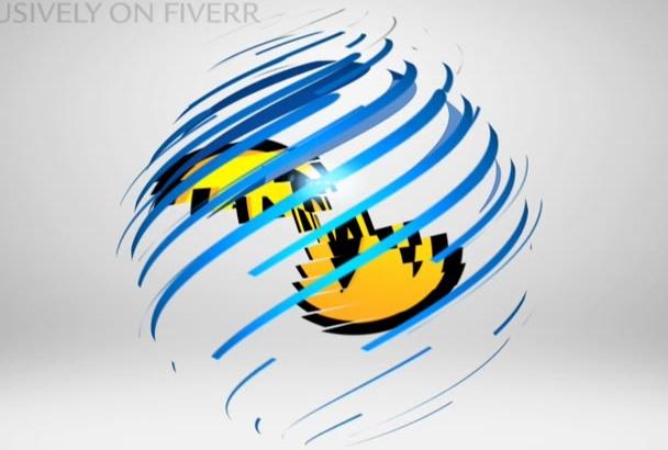 make Transforming Logo INTRO Video