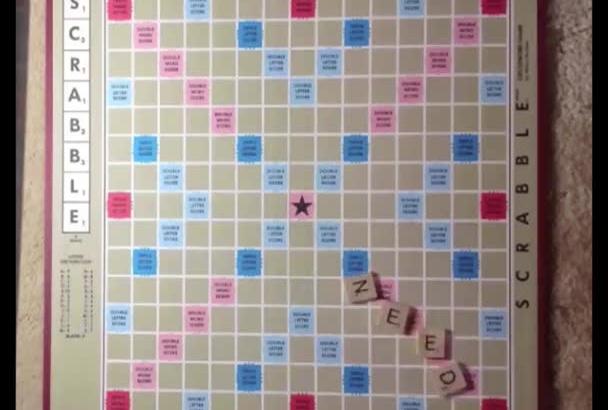 make personal Scrabblelized video message