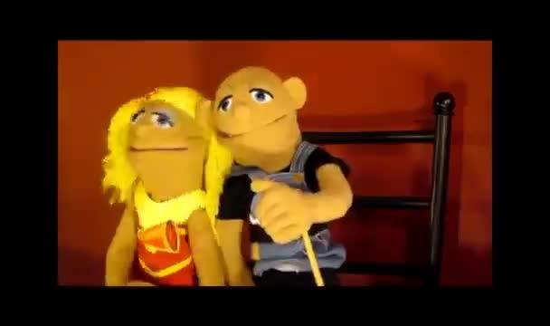 puppet couple video testimonial