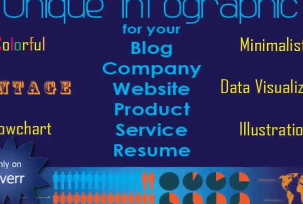 create an awesome Infographic Design