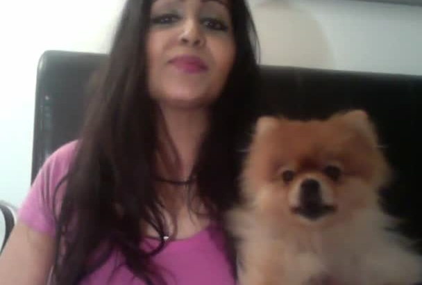 do a testimonial or sing Happy Birthday with my dog