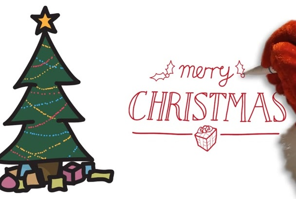 create a Christmas Whiteboard Animation For the Holidays