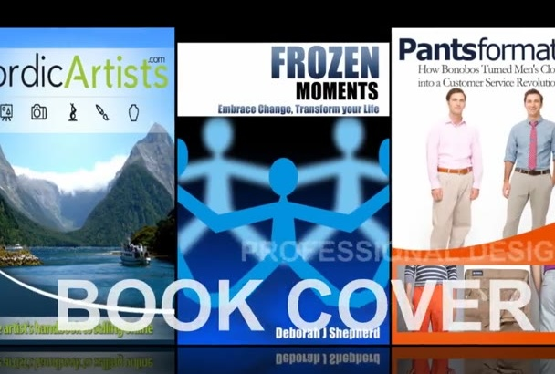 design professional Book Ebook or Kindle COVER